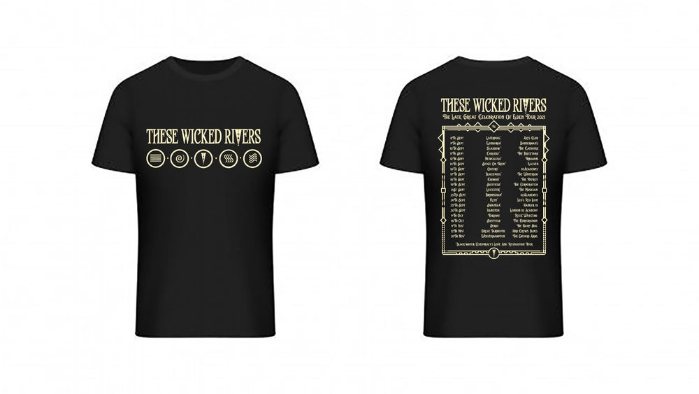 Image of These Wicked Rivers Elements Tour Tee