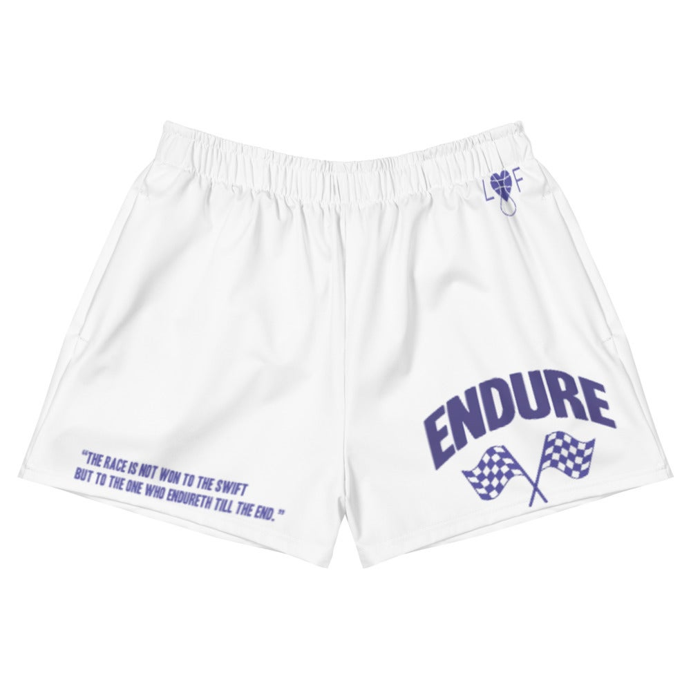 Image of Women's Athletic  Endure Short Shorts (Yr4 Colorway)