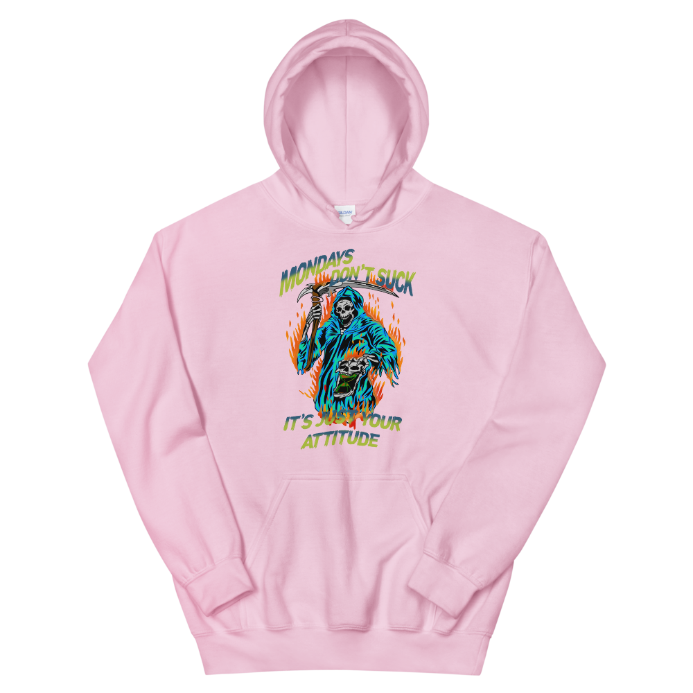 Image of Monday's reaper pull over hoody