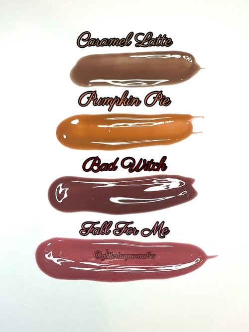 Image of Fall Pigmented Nude Lip Gloss Collection🎃