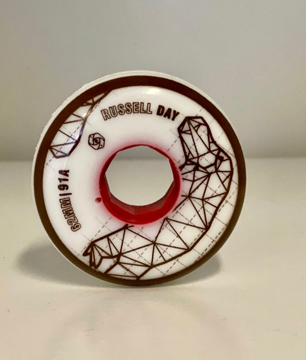 Red Eye 62MM / 91A Russell Day V2.5 Wheel