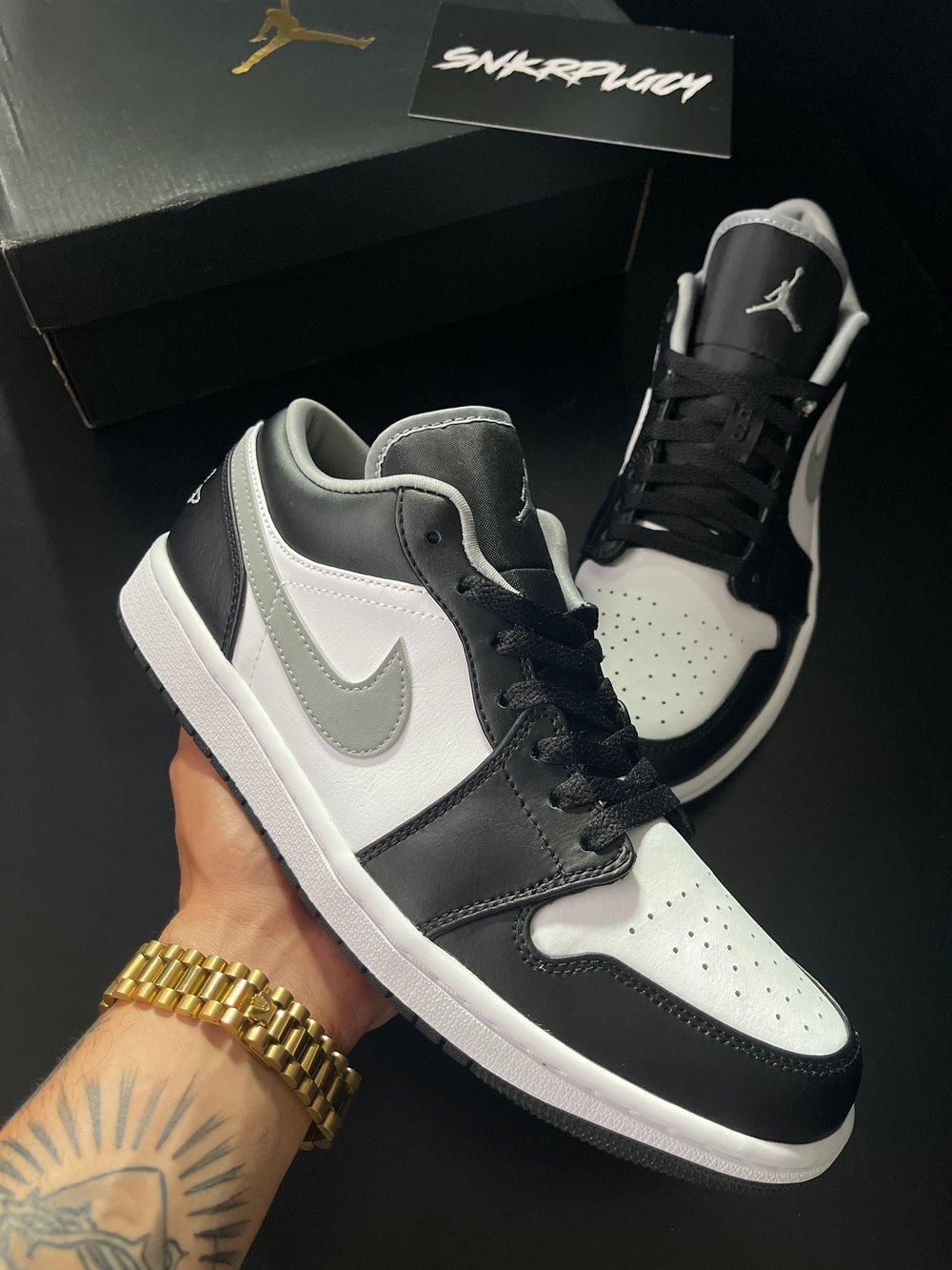 Air Jordan 1 Low / Black, White, Grey