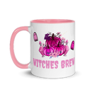 Image 1 of Pink Spooky Witches Brew Ceramic Mug
