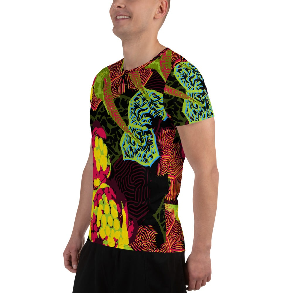 Image of Zebra Neuro Relaxed Fit Athletic T-shirt