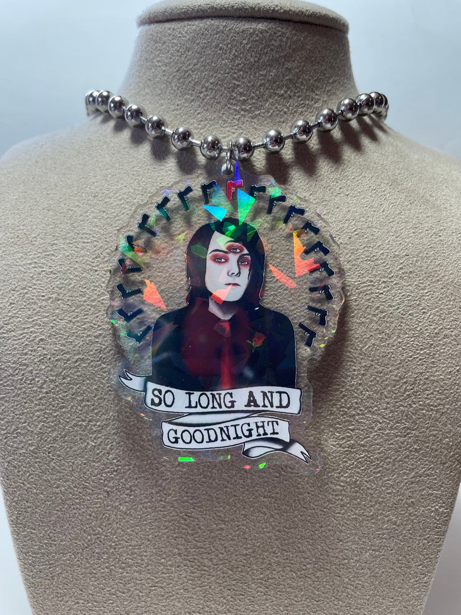 Image of Revenge Gerard Ball Chain Necklace