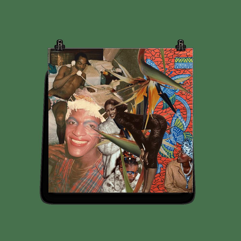 """Shrine"" Collage Print"