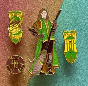 Chaser Ginnie of the HollyHead Harpies & Qwality Qwitdditch Supplies