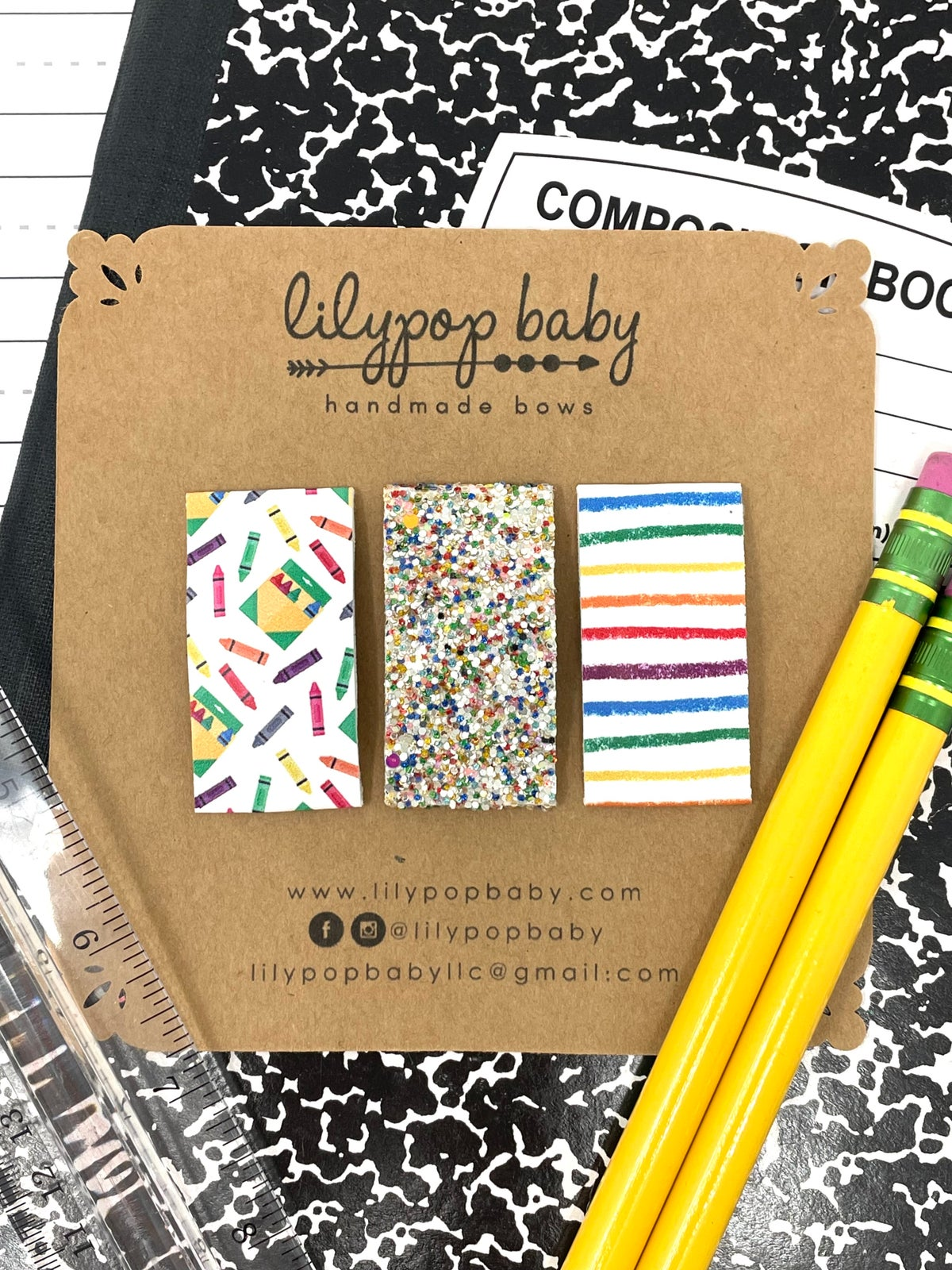 """Image of """"Be Creative"""" Snap Clips (Set of 3)"""