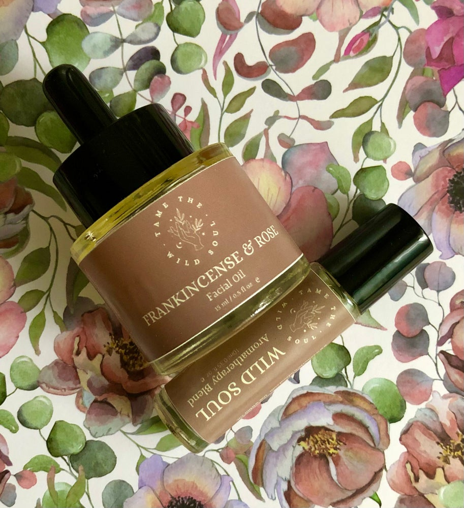 Image of Frankinsence & Rose Facial Oil 15ml