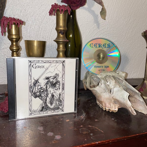 """Image of Ceres """"Tyrant's Rise"""" CD"""