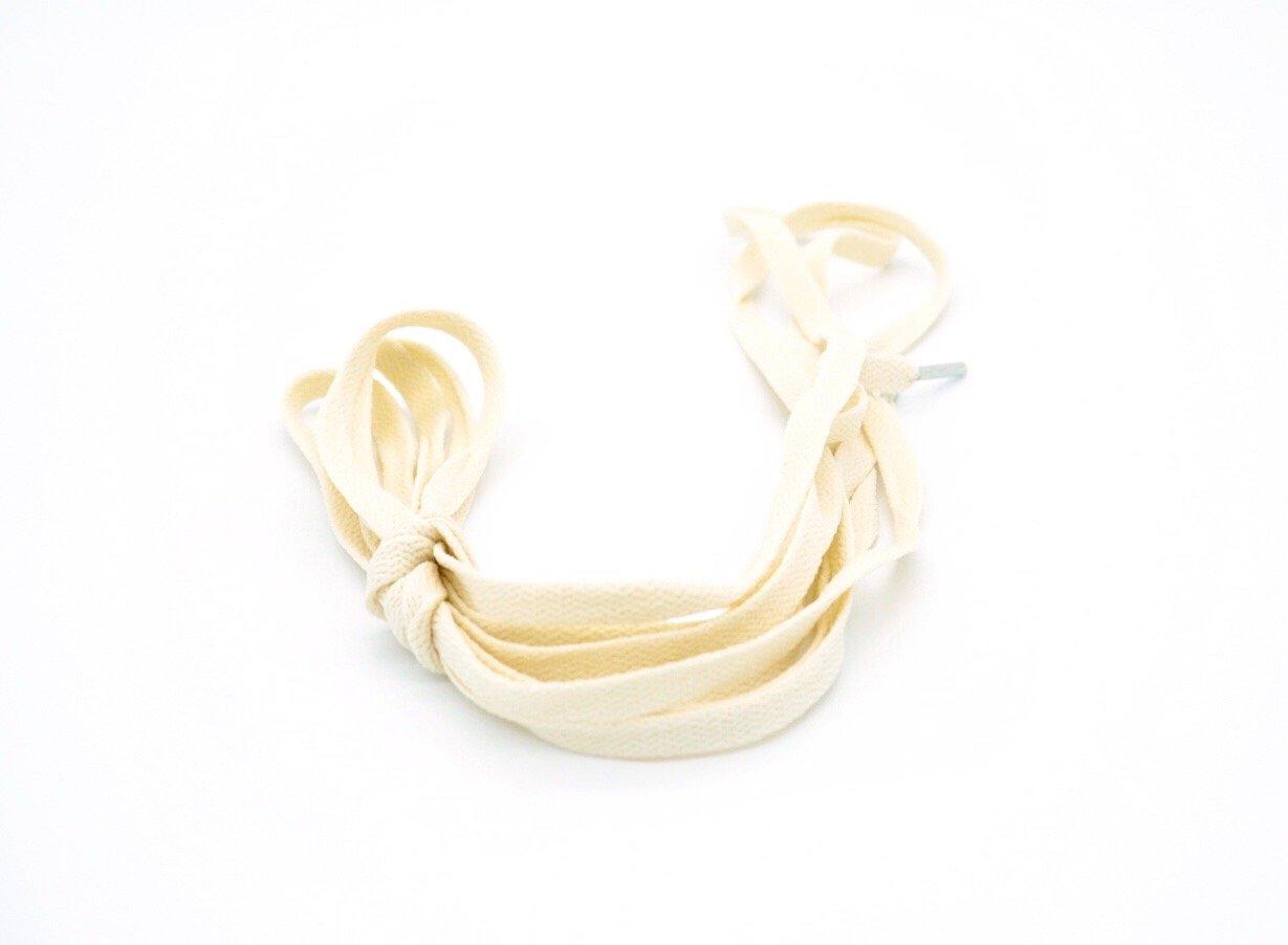 Image of Cream Flat Laces