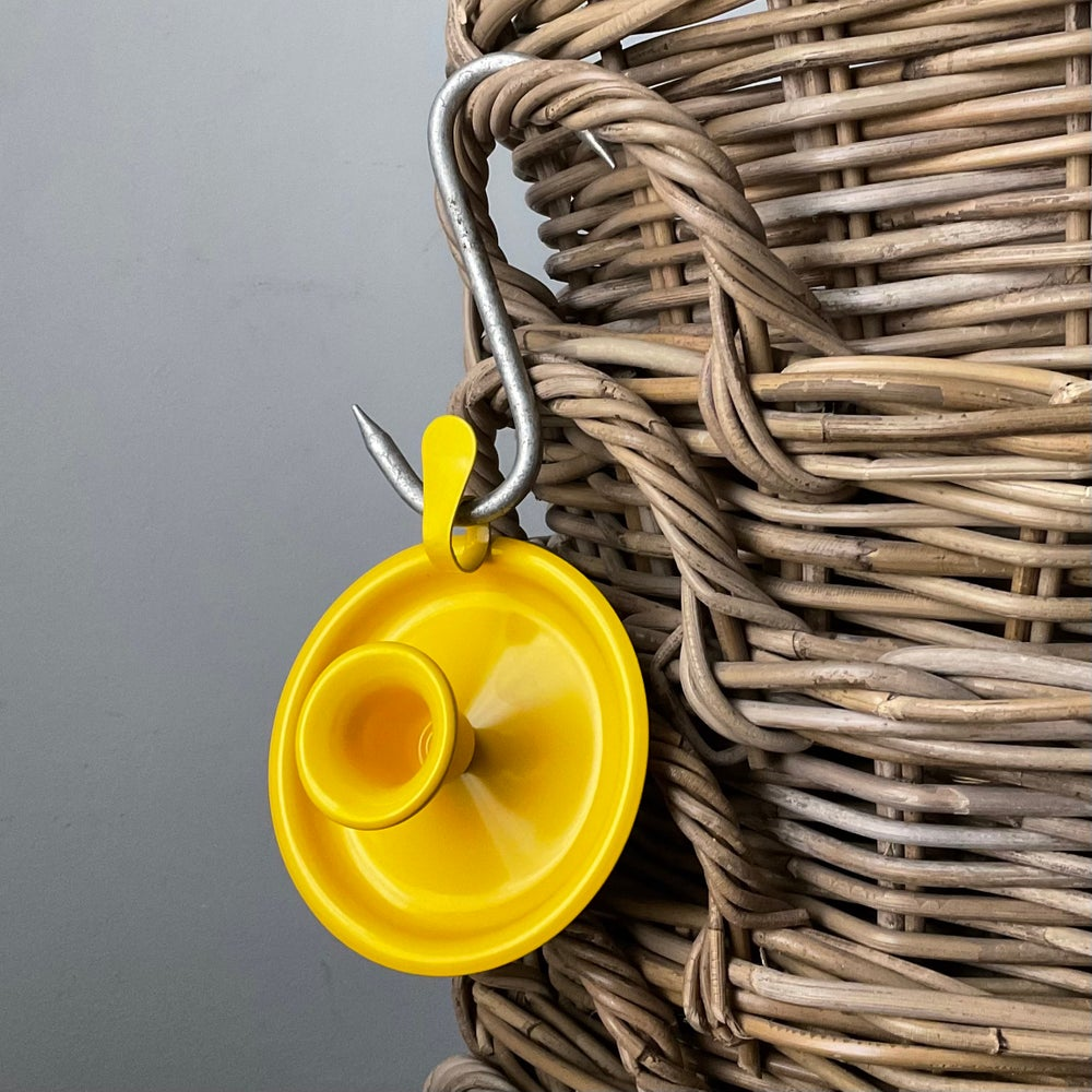 Image of Yellow Candle Holder