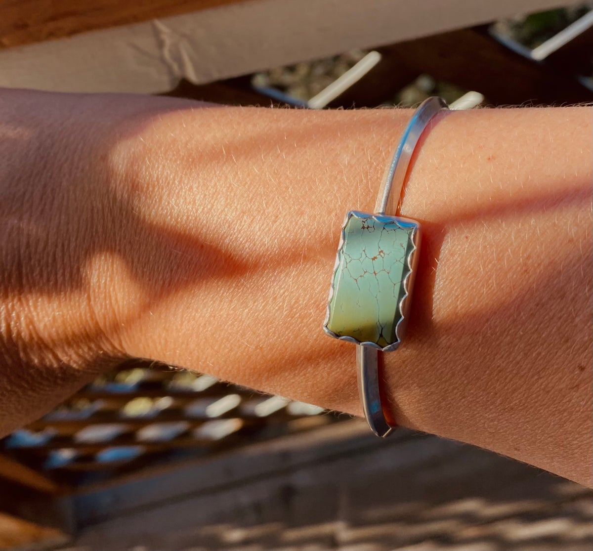 Image of Turquoise Cuff #1