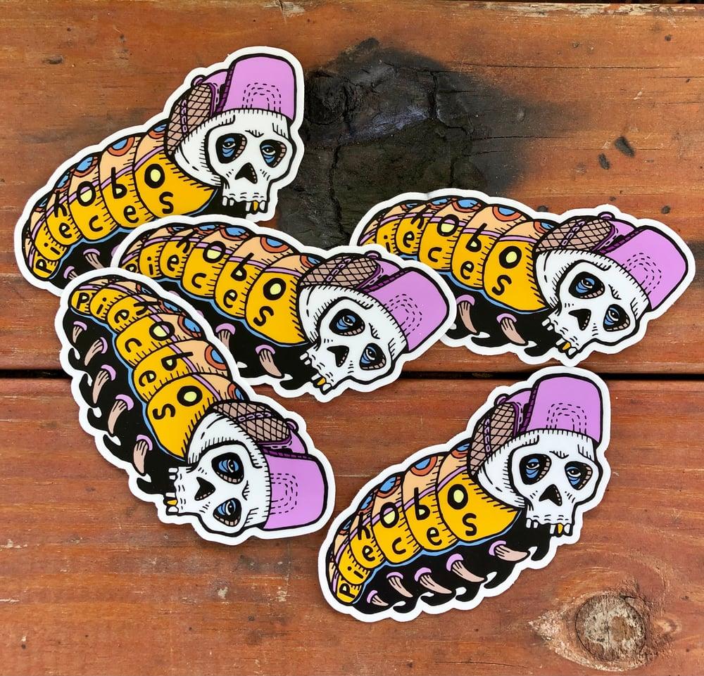 Image of Hobopillar Sticker…….