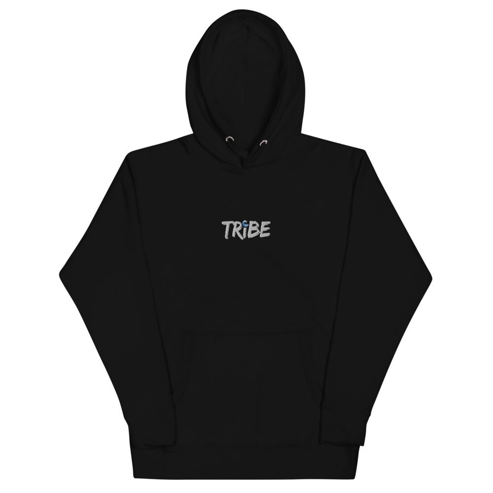 Image of Tribe Wave Embroidery Hoodie