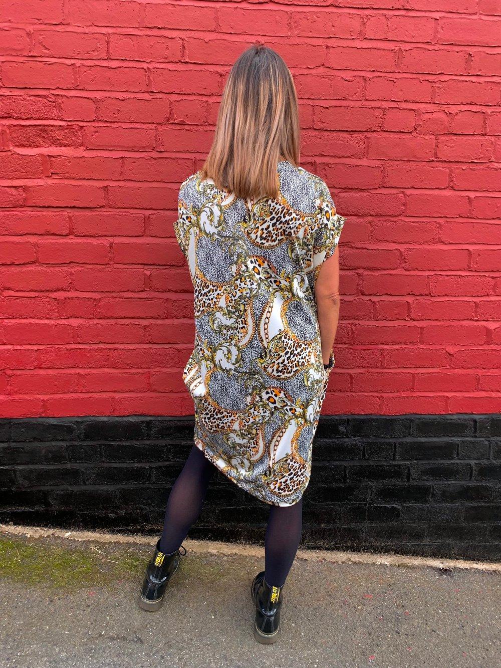 Milano pocket dress - Rihanna fabric