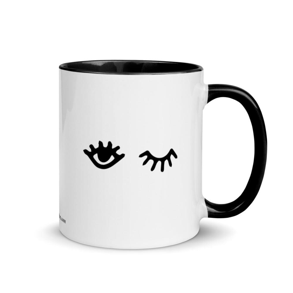 Image of Eye Got You Mug with Color Inside