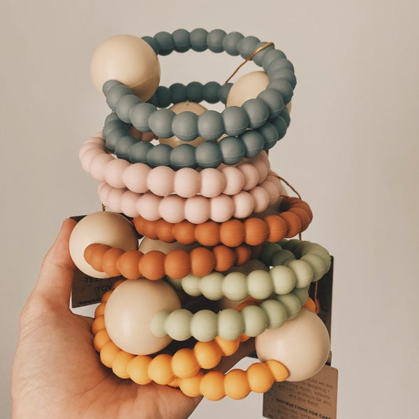 Image of RATTLE'O Teether - 5 colours