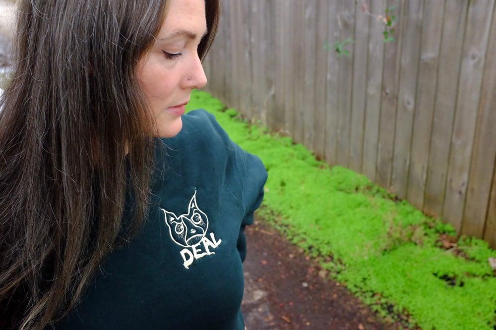 Image of Zombie Dog Premium Crew Neck - Forest Green