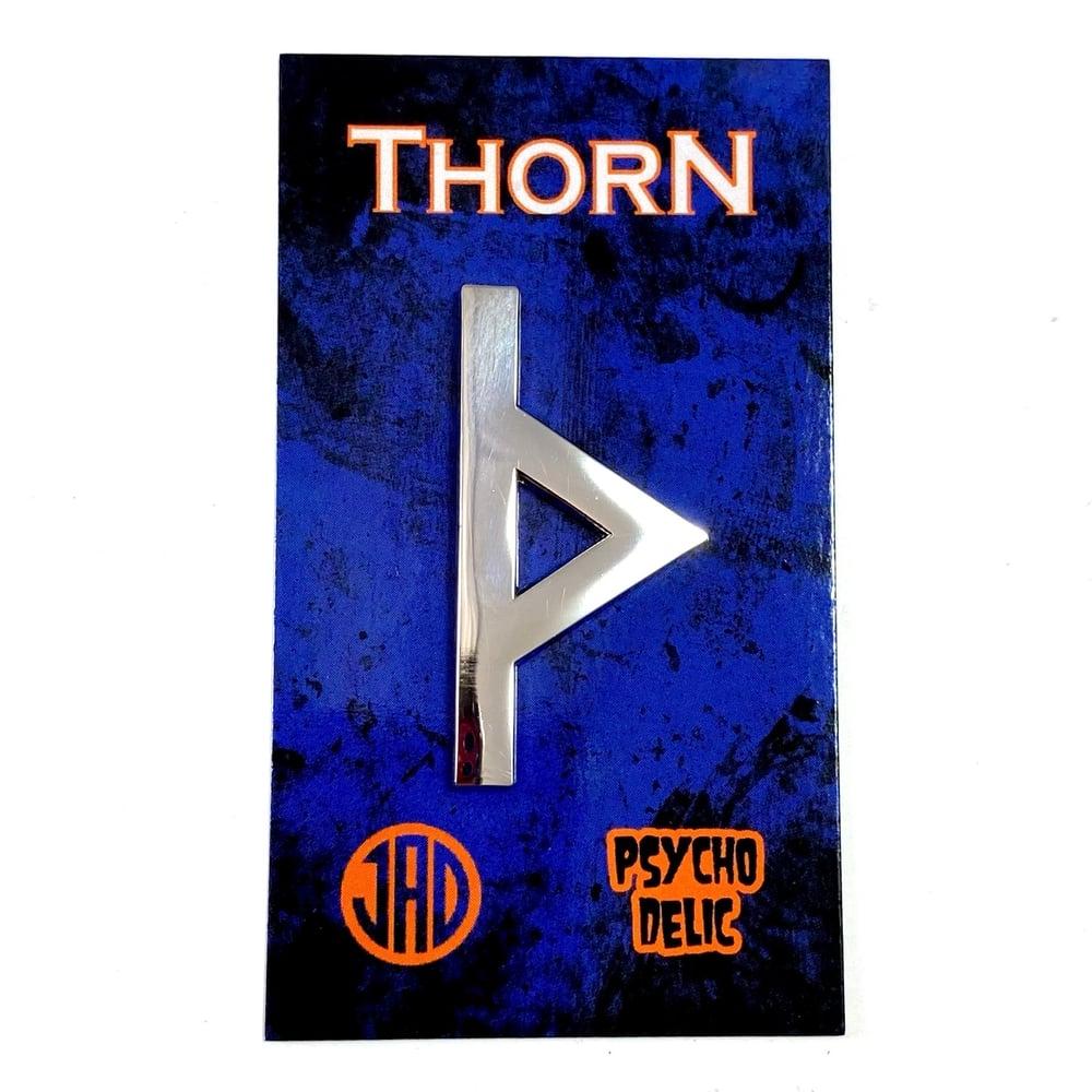 Thorne Silver Edition (Enamel Pin)