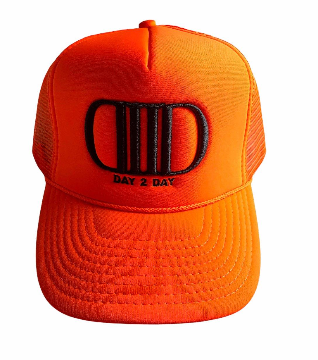 Orange/Black Truck Hat