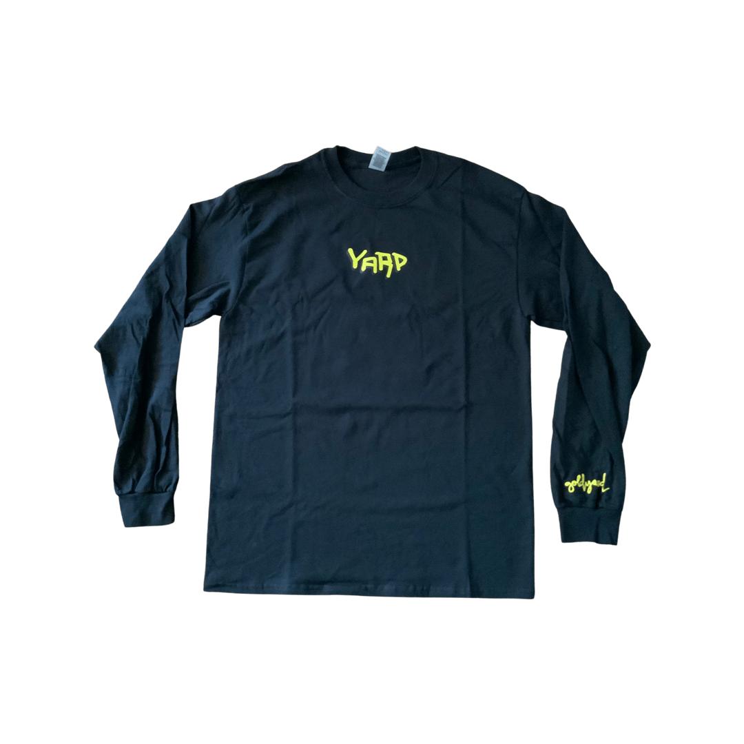 "Image of Limited Edition ""YARD"" Long-sleeve, Black"