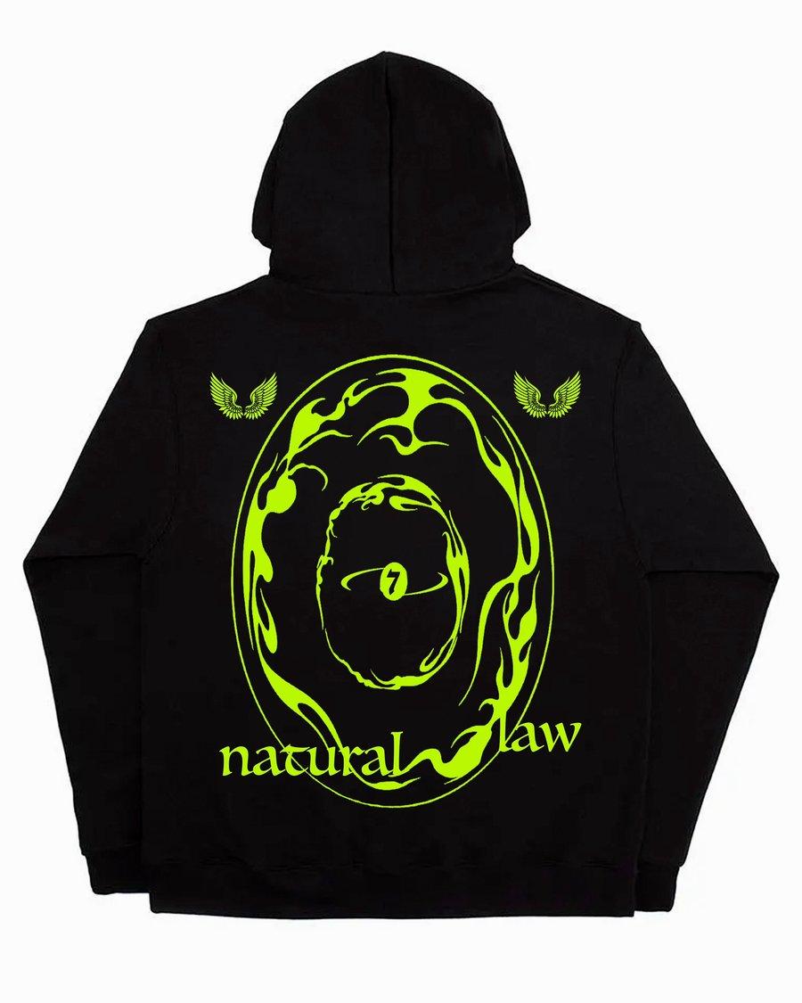 Image of NATURAL LAW HOODIE (BLACK)