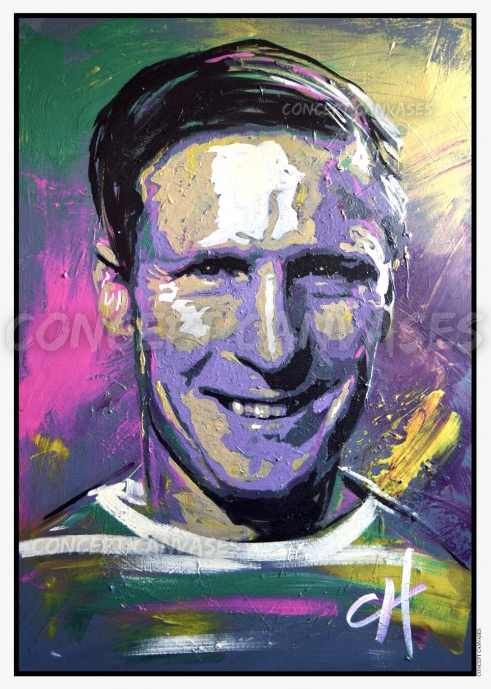 Image of 'McNeill' A3 Print
