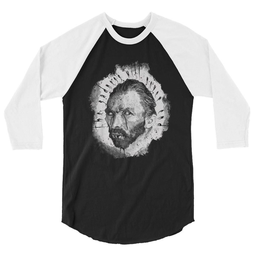 Image of Sad Van Gogh raglan shirt