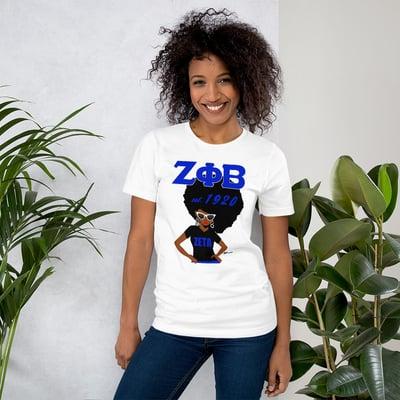 Image of Zeta Side Fro T-Shirt
