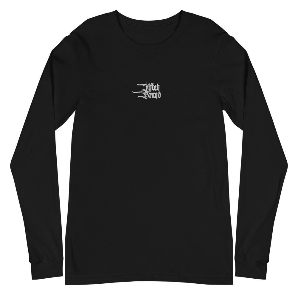 Embroidered Flame Long Sleeve