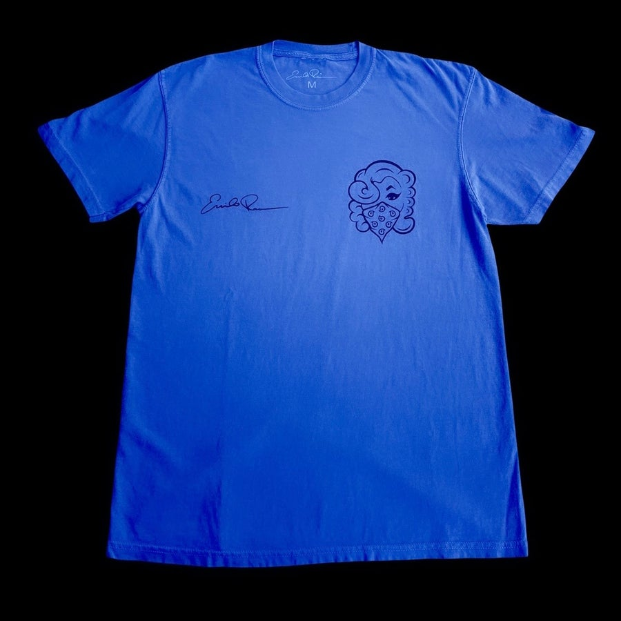 Image of Signature Tee (BLUE)