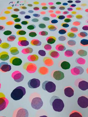 My Riso Flavors ~ 11x14 Risograph print