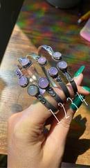 Image 3 of adjustable crystal bracelet bands/arm cuffs