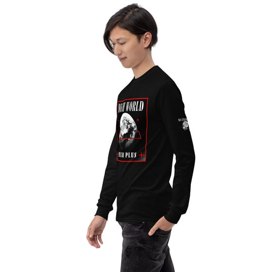 Image of Death World Long Sleeve Black T-Shirt