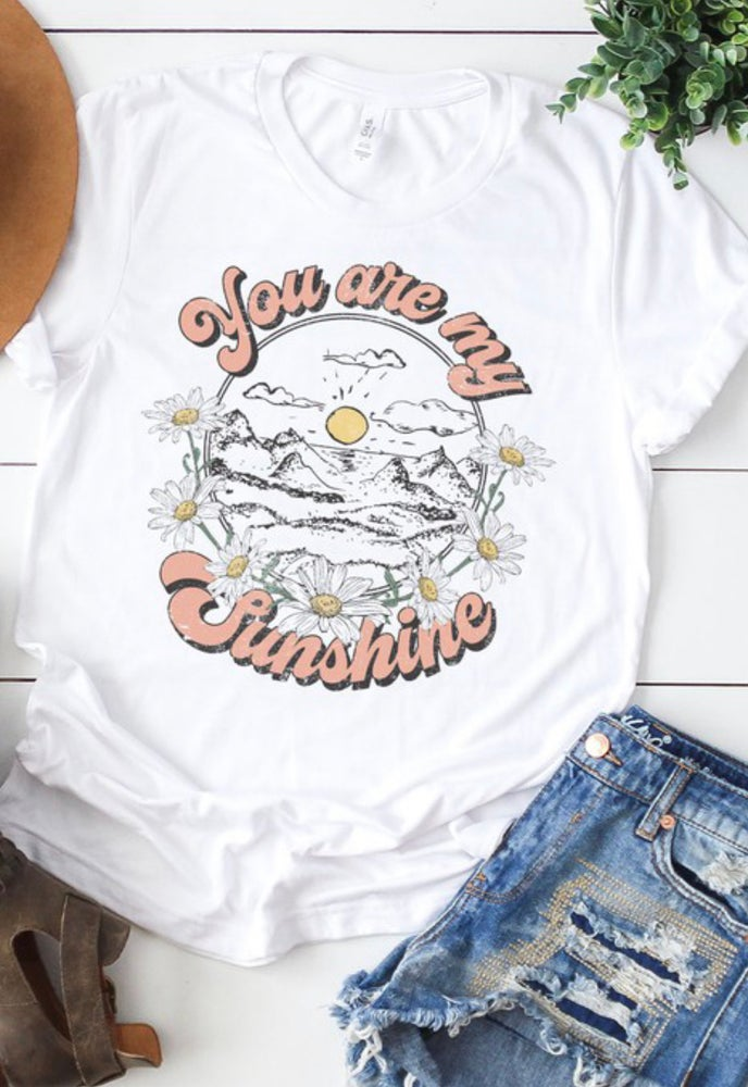 Image of YOU ARE MY SUNSHINE-WHITE