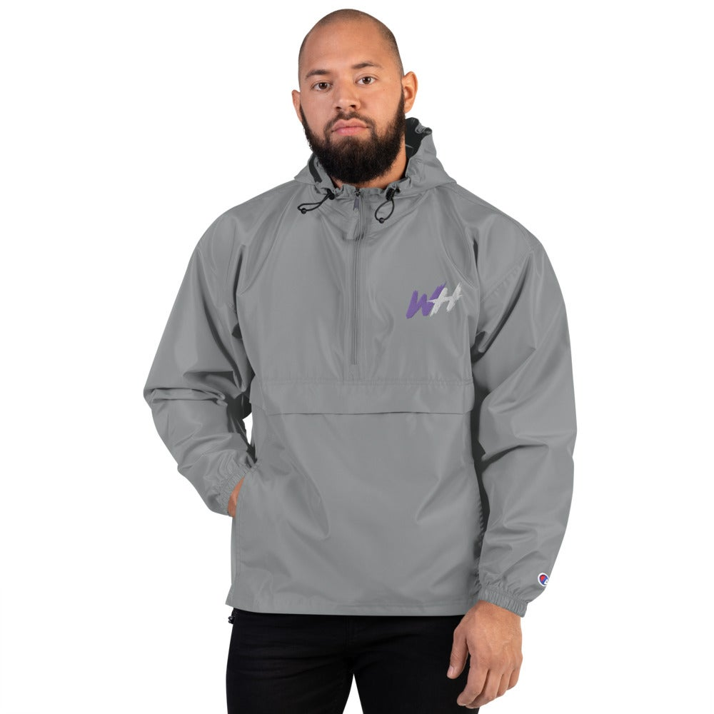 WH Embroidered Champion Packable Jacket