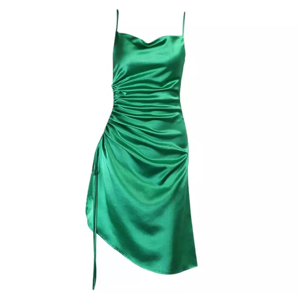 Image of Money Satin   Dress