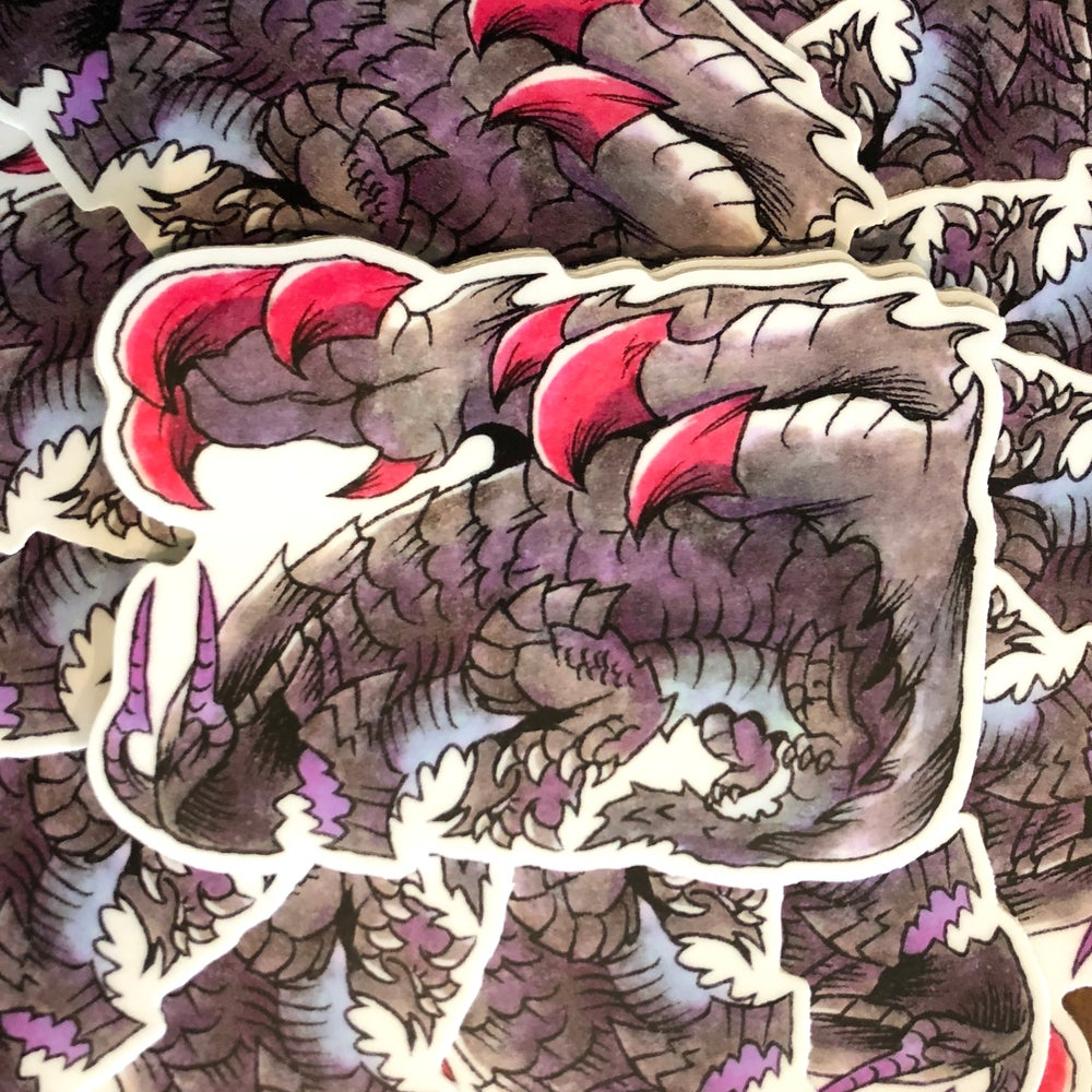 Image of Gore Magala Sticker