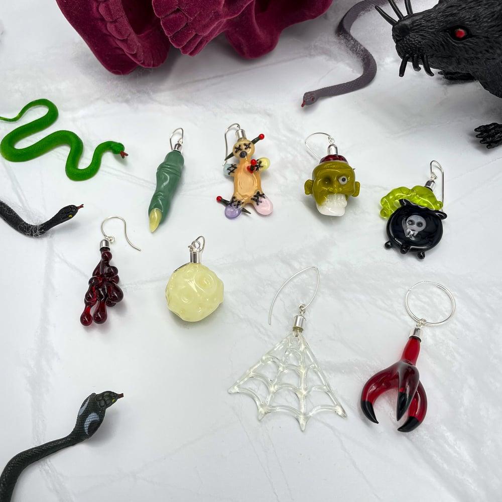 Image of Spooky Series Dangle Earrings
