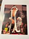 Kenta Kobashi Signed 8x10 ROH Intro Photo