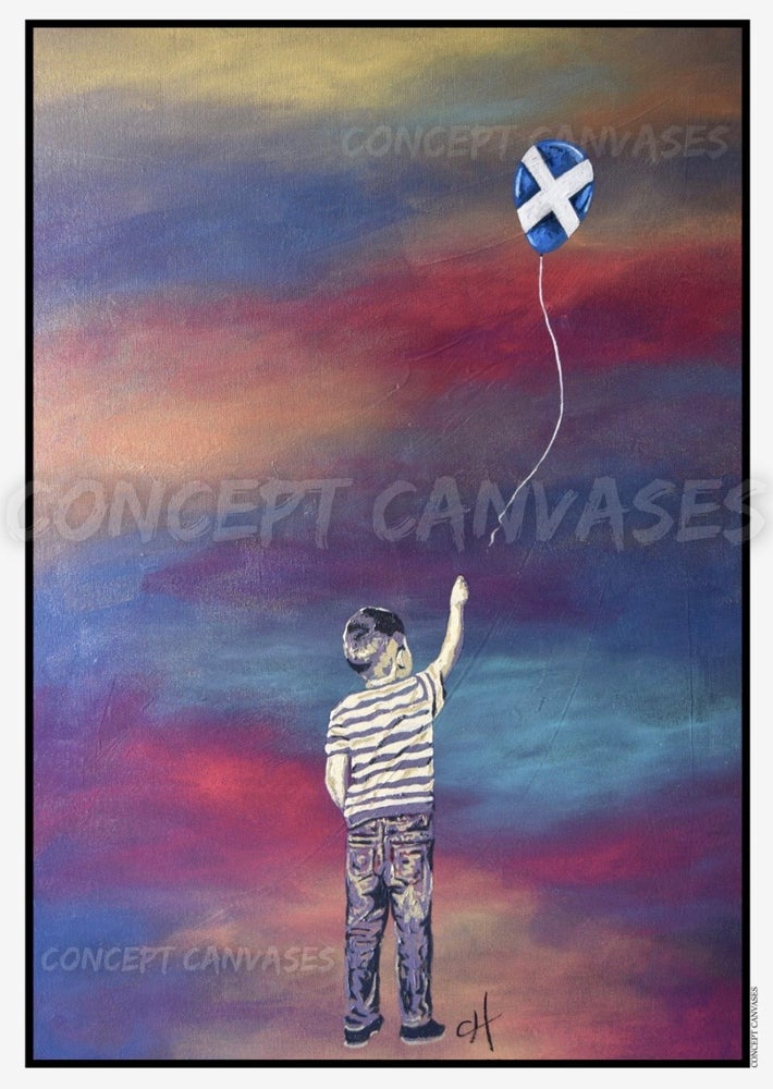 Image of 'Hope Floats' A3 Print 🏴PRE-ORDER🏴