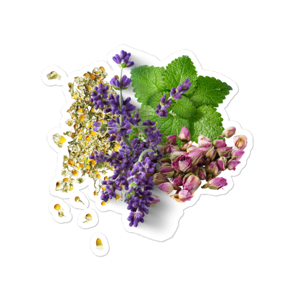 Image of Herb Bunch Bubble-free stickers