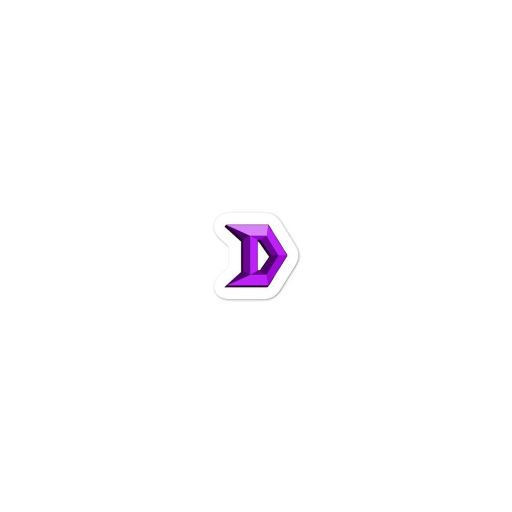 Image of Bubble-free stickers Purple!!!