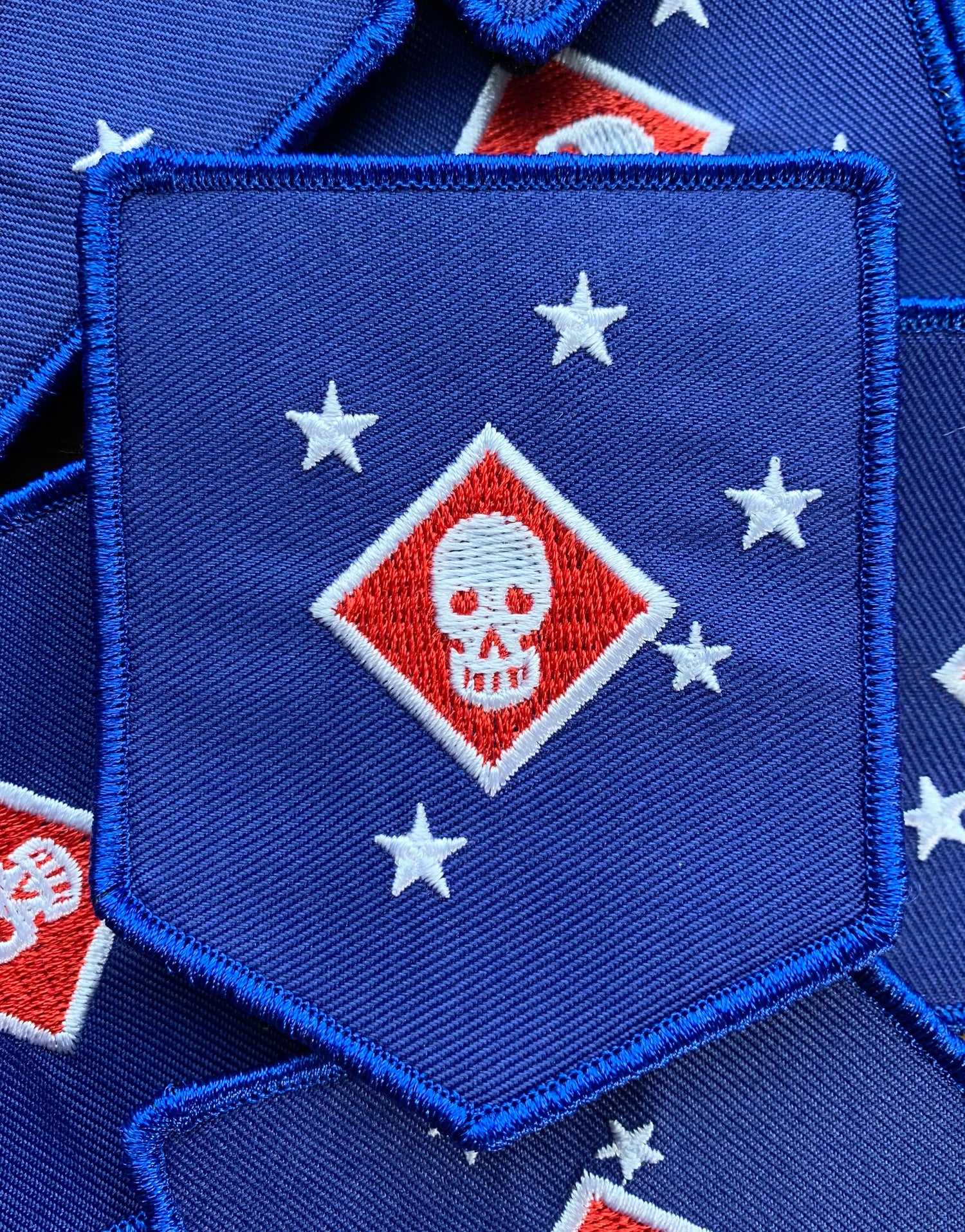 Image of Lt. Colonel Sam Griffith Raider Patch