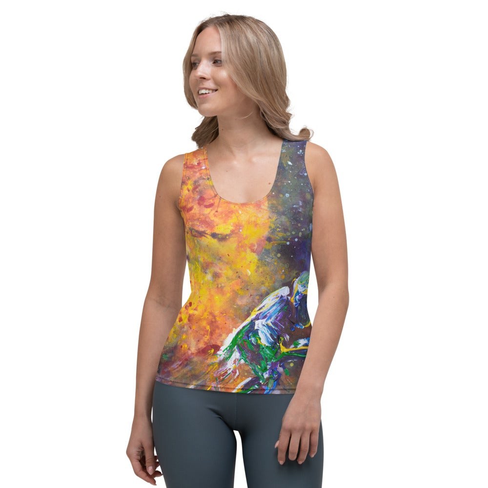 Image of We'll See How Long The Universe Enjoys this Patch Job Tank - Women's