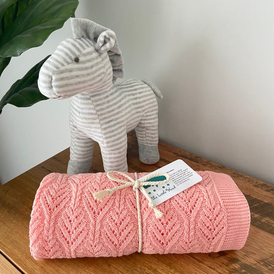 Image of Baby Bundle - Any listed baby blanket and Harper horse
