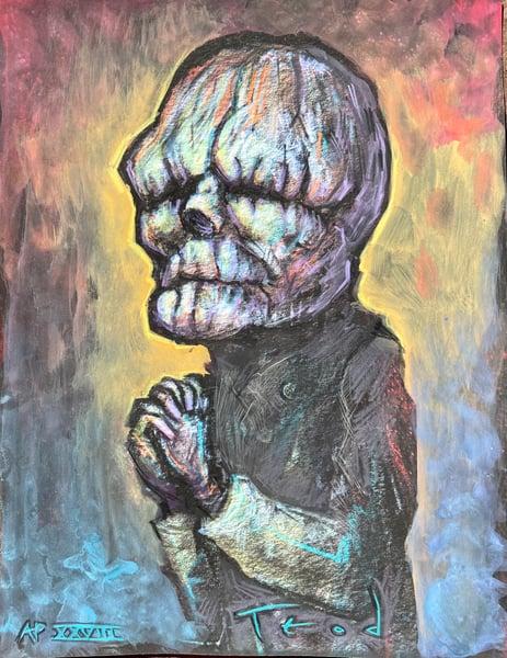 "Image of Teod ""The Butler"" Artist Embellishment #28"