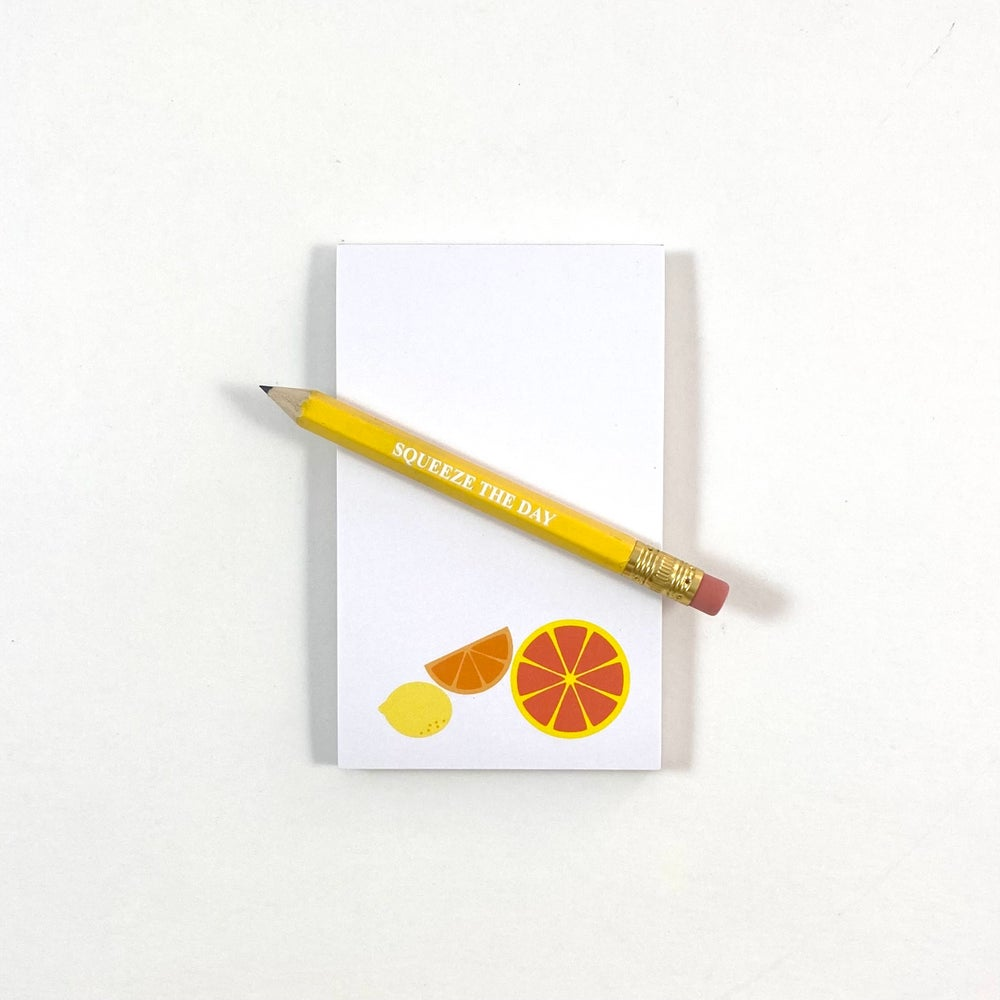 Image of Squeeze the Day Notepad Set