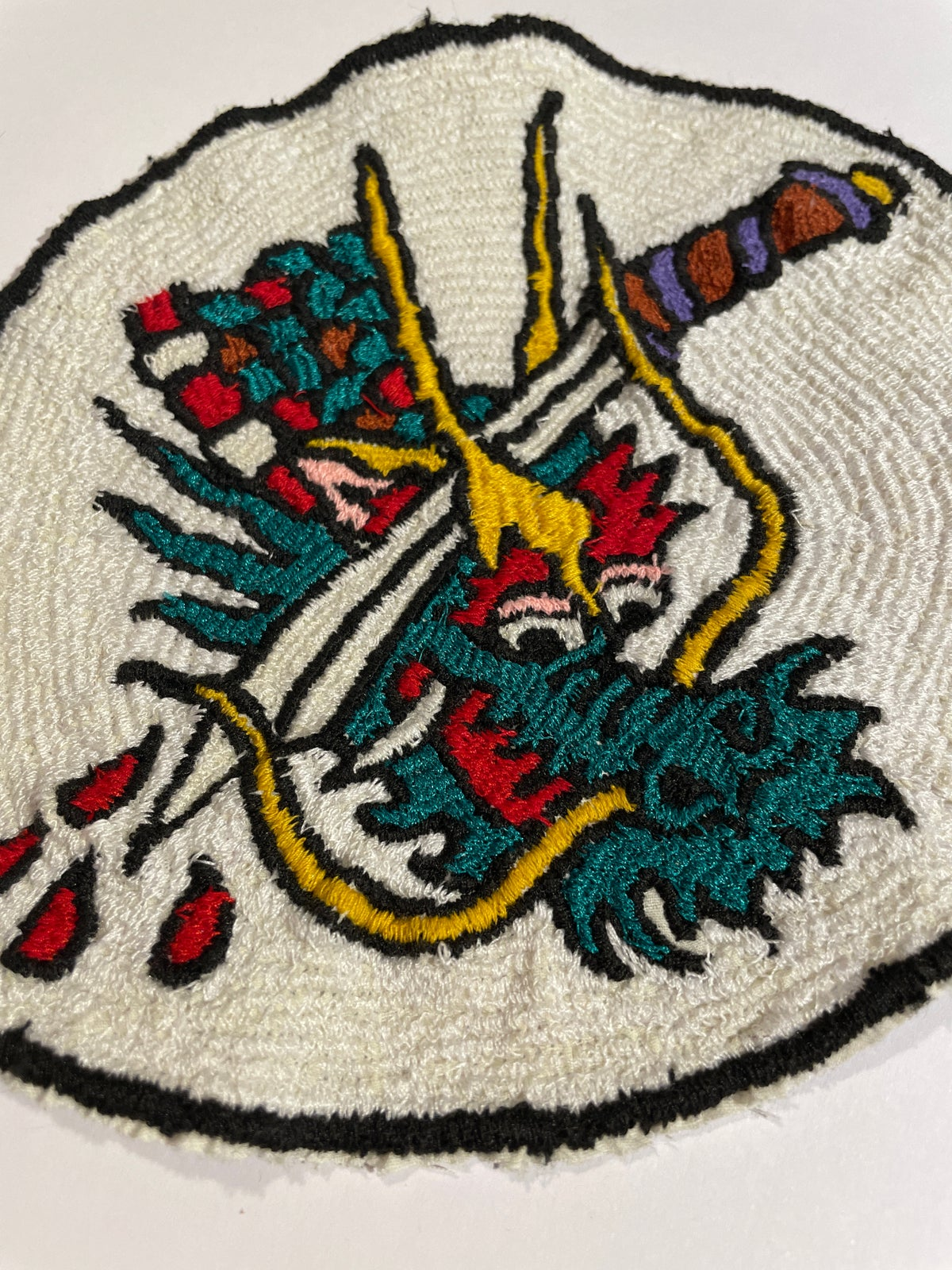 Image of Large Dragon patch. 1